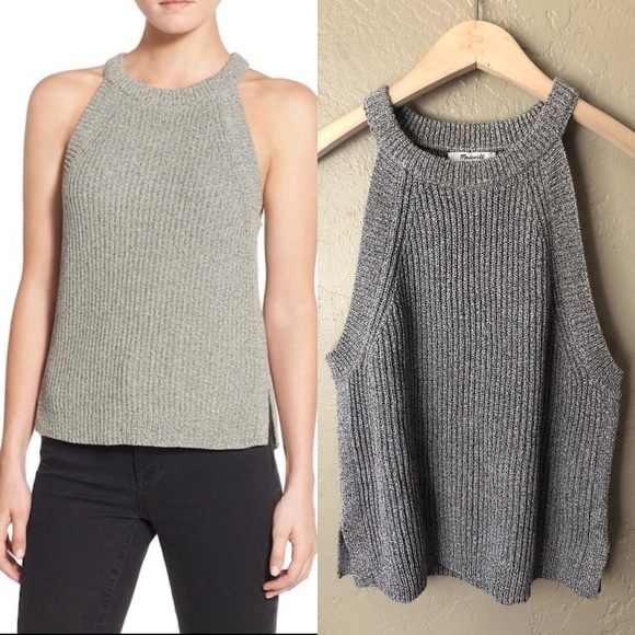 dd953431645 Madewell Sweaters - Madewell Valley Sweater Tank Gray